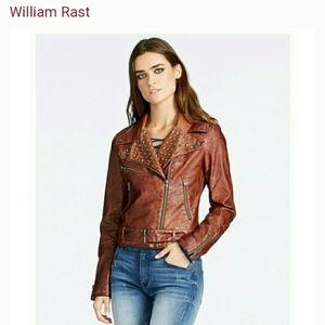 🆕️ WILLIAM RAST™  Kate Pleather Moto Jacket